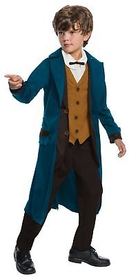 Fantastic Beasts And Where To Find Them Deluxe Newt Scamander Child Costume 4-6