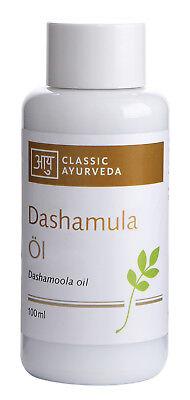 Dashamula Massageöl, 100 Ml Gemischt von Classic Ayurveda