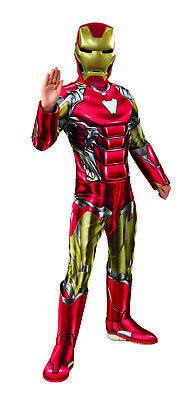 Iron Man Avengers Endspiel Jungen Kind Deluxe Gepolsterter - Iron Man Kostüm Marvel Helden