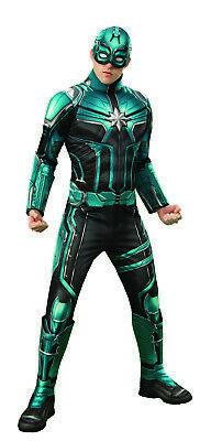 Marvel Villain Costumes (Yon Rogg Captain Marvel Deluxe Mens Adult Villain Padded)