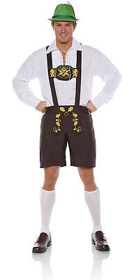 Lederhosen Bavarian German Oktoberfest Beer Guy Ricola Men's Costume STD-XXL](German Guy Costume)