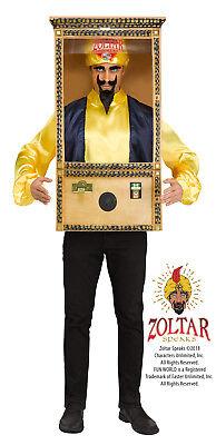 Zoltar Speaks Erwachsene Wahrsagerin Booth Halloween - Wahrsagerin Halloween Kostüm