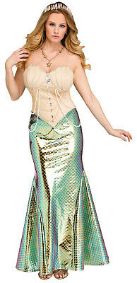 Mermaid Womens Adult Mythical Sea Creature Halloween Costume - Womens Adult Costumes