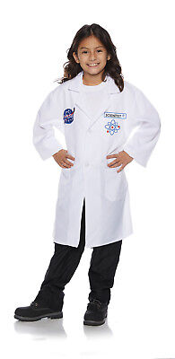 Rakete Wissenschaftler Mädchen Kind Weiß Businesskleid Kostüm - Wissenschaftler Kostüm Mädchen