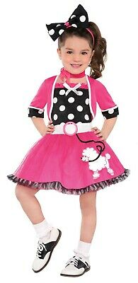 dchen Kleinkind 50er Jahre Socke Hop Tänzer Halloween Kostüm (Halloween, 50er Jahre Mädchen Kostüm)