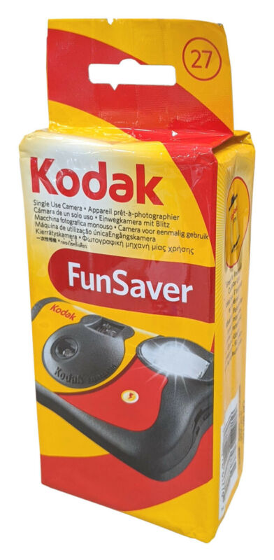 Kodak Mini FunSaver 35mm One-Time-Use Disposable Camera