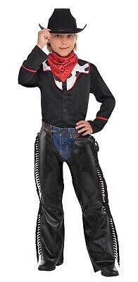 Cool Cowboy Boys Child Western Bandit Halloween Costume - Cool Boys Costume