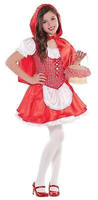 Lil Rotkäppchen Mädchen Kleinkind Märchen Charakter Halloween Kostüm ()