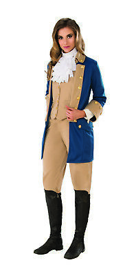 Colonial Halloween Costumes Adults (Patriotic Woman Adult Colonial War Presidential Halloween)