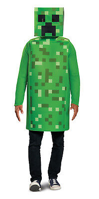 Kletterpflanze Klassisch Herren Erwachsene Minecraft Videospiel Halloween (Kletter Halloween Kostüme)