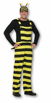 Worker Bee - Bumble Bee - Adult Unisex Overalls Costume   - Bumble Bee Costumes