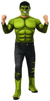 Hulk Avengers Endgame Mens Adult Deluxe Padded Superhero Costume (Hulk Mens Costume)
