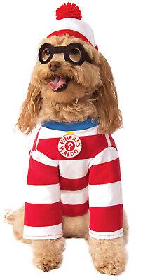 Waldo Woof (Wheres Wally Waldo Woof Pet Dog Cat Halloween Stripped)