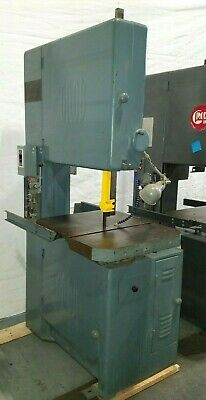 Grob 24 Metal Band Saw Bandsaw With Welder Table Feed In Great Condition