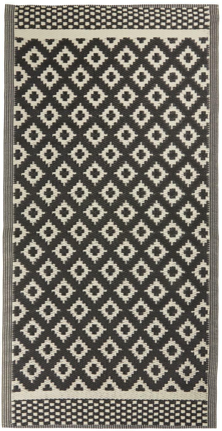 Ib Laursen Teppich 90x180cm Blau Muster Matte Läufer Bodenmatte 2830-13