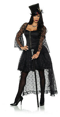 Immortal Damen Erwachsene Schwarz Hexe Vampir Gothic Halloween - Erwachsene Vampir Halloween Kostüme