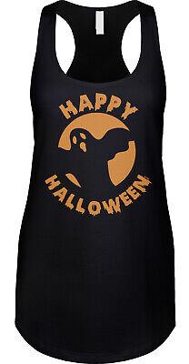 Happy Ghost Halloween Costume (Happy Halloween Ghost Party Costume Teacher Parent Appropriate Ladies)