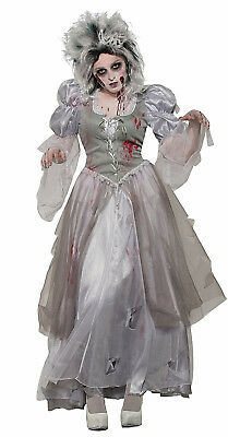 Zombie Never After Dead Princess Womens Adult Halloween - Halloween Costumes Zombie Princess