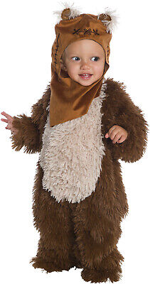 Ewok Star Wars Classic Plush Boys Infant Toddler Halloween Costume