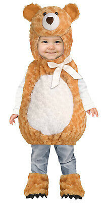 Teddy Bear Boys Toddler Plush Brown Animal Halloween Costume