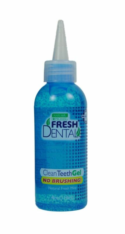 Naturel Promise DNP33012 Fresh Dental Clean Gel for Dogs/Cats, 4-Ounce