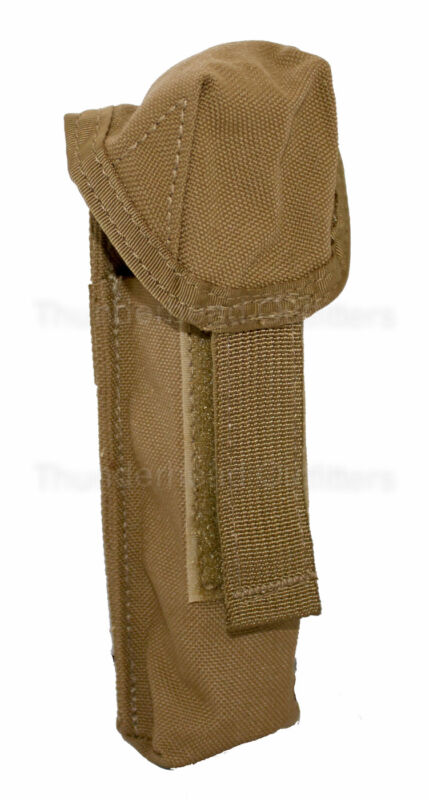 US Military MOLLE Flashlight Pouch Coyote or Knife Holder Utility LBT-9037A NEW