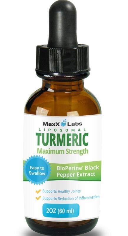 Liposomal Tumeric Curcumin Drops with BioPerine Black Pepper