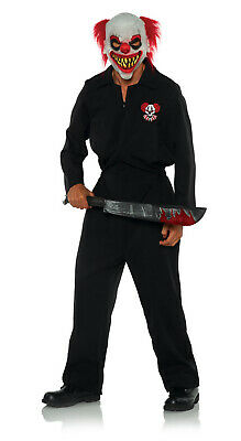 Killer Clown Crew Herren Erwachsene Scary Hofnarr Halloween - Scary Clown Overall