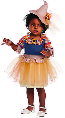 Farmers Daughter Costume (Sweet Scarecrow Girl Child Farmer Tutu Wizard Of Oz Halloween)