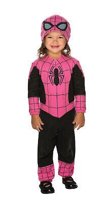 Pink Spidergirl Marvel Superheld Mädchen Kleinkind Halloween Costume-Todd ()