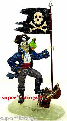 Dept. 56 Captain Black Bart's Ghost Retired 2002 Halloween - Halloween Bart