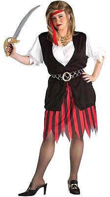 Piraten Damen Erwachsene Seeräuber Dieb Jäger Halloween Costume-Xl