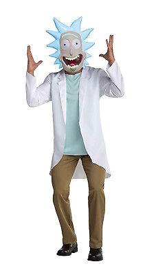 Rick Mens Adult Rick And Morty Tv Show Mad Scientist - Mad Tv Kostüm