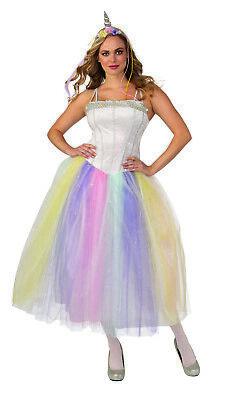 Einhorn Damen Erwachsene Prinzessin Tutu Mythisch Halloween - Märchen Prinzessin Tutu Kostüm