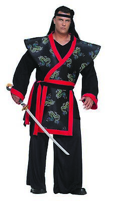 Super Samurai Mens Adult Fighting Warrior Halloween Costume - Samurai Warrior Halloween Costume
