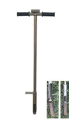 38mm Soil Probe Sampler With Sample Ejector Stainlesssteel Gator Probe Step Tube