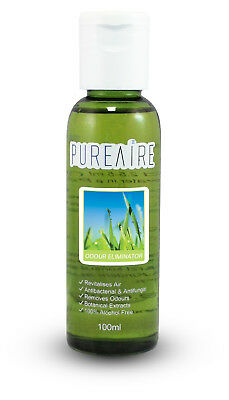 PureAire Odour Eliminator 100ml Fragrance Essence for Air Purifier Anti Bac