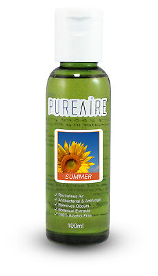 PureAire Summer 100ml Fragrance Essence for Air Purifier Anti Bacterial