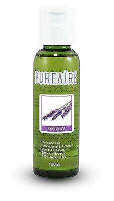 PureAire Lavender 100ml Fragrance Essence for Air Purifier Anti Bacterial