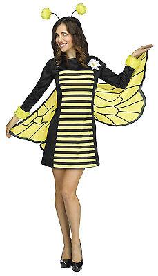 Cute Bumble Bee Costumes (Bee My Honey Womens Adult Cute Bumblebee Halloween)