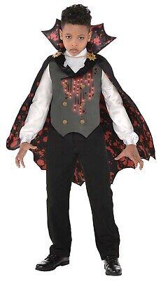 Blutig Vamp Jungen Kind Leuchtend Dracula Vampir Halloween - Blutige Vampir Kostüm
