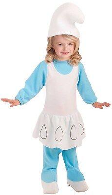 Village Schlumpfine Kleinkind Mädchen Kostüm Romper-Todd (Schlumpfine Kleinkind Kostüm)