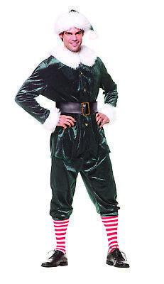 Elf Seasonal Green Adult Male Halloween Costume - One Size (Seasonal Costumes)