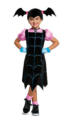 Vampirina Girls Toddler Cute Vampire Tv Show Character Costume - Vampire Costumes