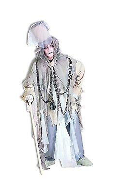 Jacob Marley Mens Adult Classic A Christmas Carol Ghost Costume