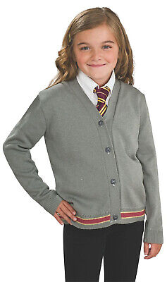 Hermine Granger Harry Potter Mädchen Gryffindor Strickjacke - Harry Potter Hermine Granger Kostüm
