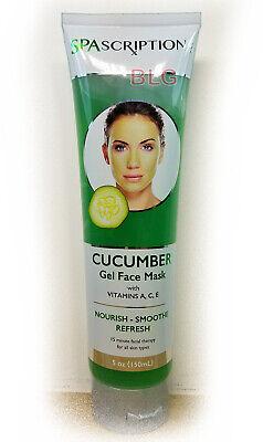 Global Beauty Care SPAScriptions FACE MASK CUCUMBER Cream Lotion Makeup Skin Gel