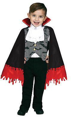 Count Crypt Boys Toddler Vampire Dracula Halloween Costume-XL - Toddler Dracula Halloween Costume