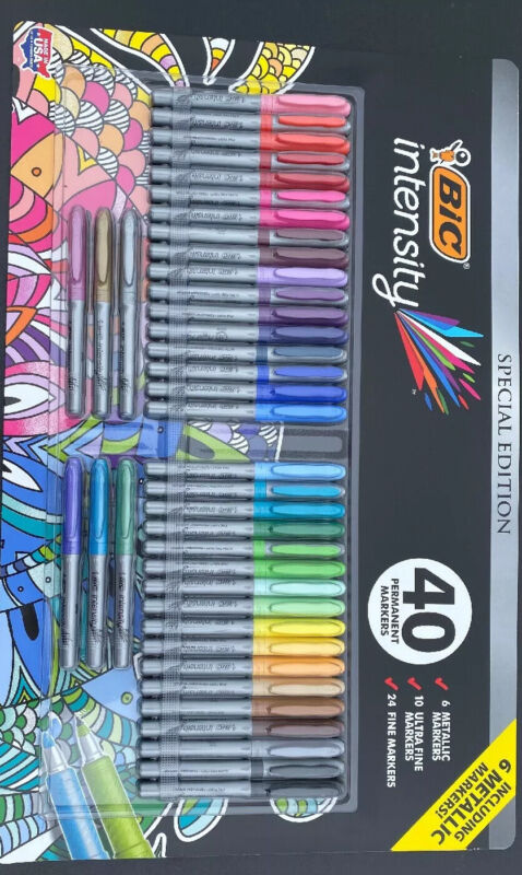 Special Edition Bic Intensity 40 Pack