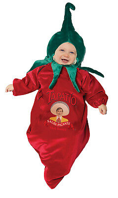 Tapatio Chili Pepper Hot Sauce Boys Infant Bunting Baby Halloween Costume-Inf - Halloween Hot Sauce